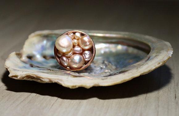 Ocean Love ring - Pearl blast