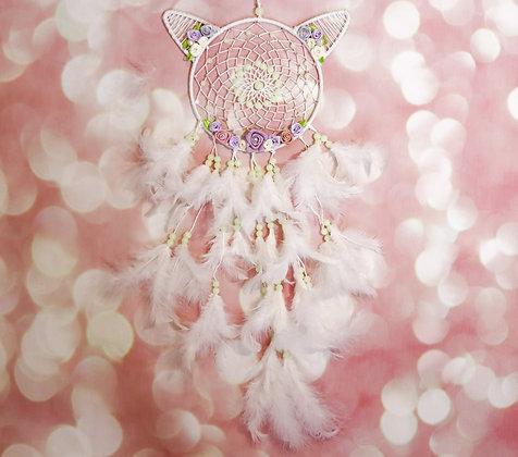 Cat Fairy Dream Catcher
