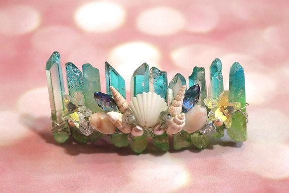 Crystal Ocean Hair Clip