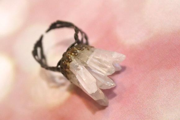 White Atlantis Ring