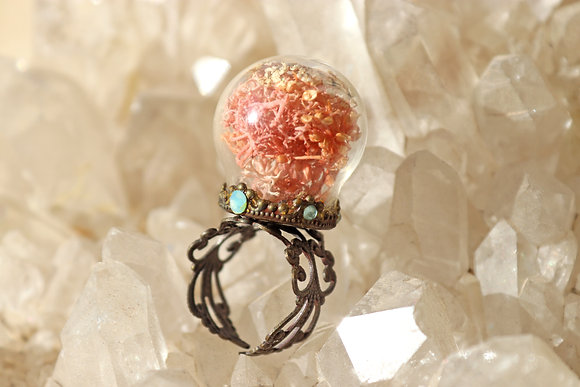 Pink Water Pixie Ring