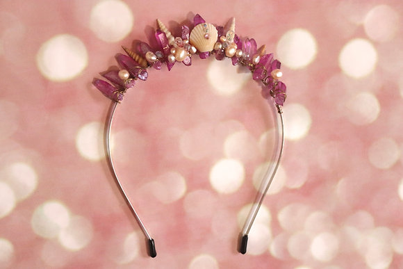 Pink Atlantis head piece