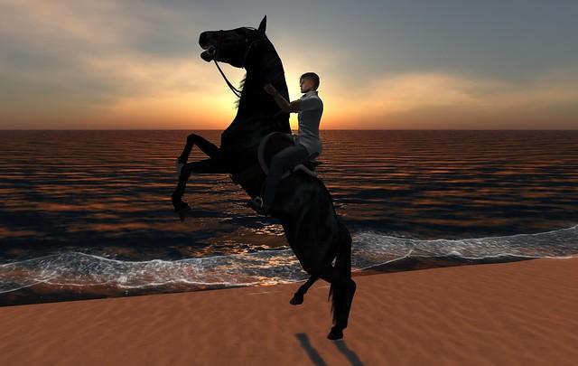 simon castle riding