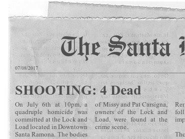 SHOOTING: 4 DEAD