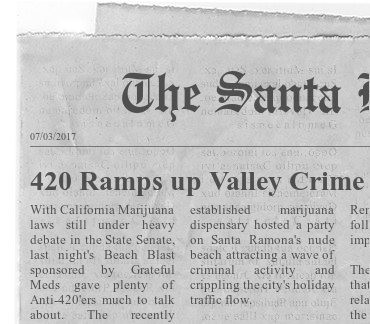 420 Ramps up Valley Crime