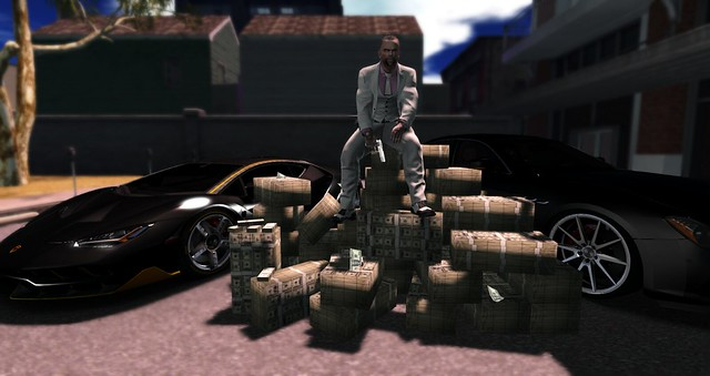 frank castle with da money