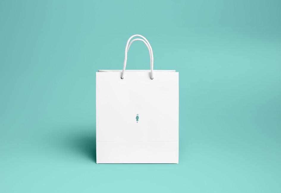 Nobody Brand Paper Bag Design