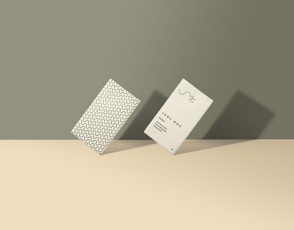 Unit Business Card Design