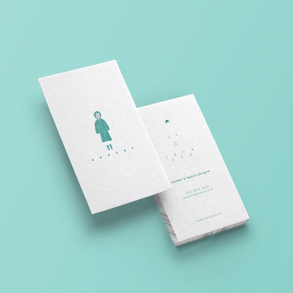 Nobody Business Card Design