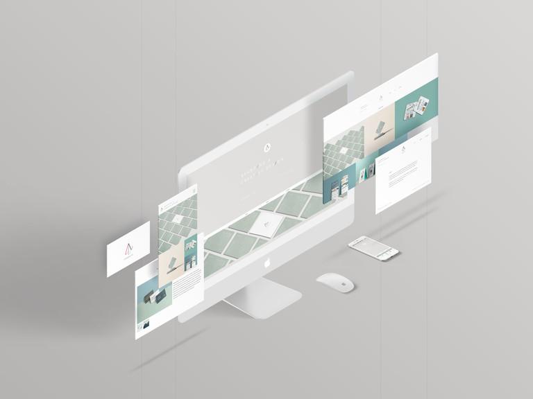 Aphrodite Design and Branding Showcase Website