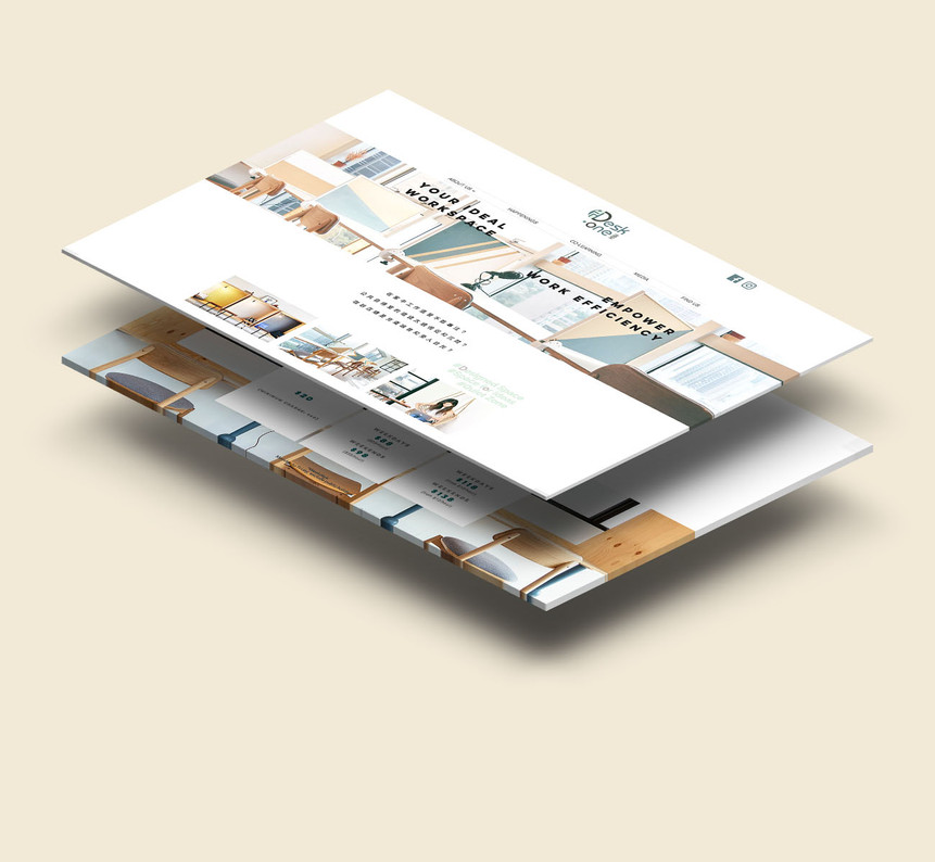 Desk-one Website Design