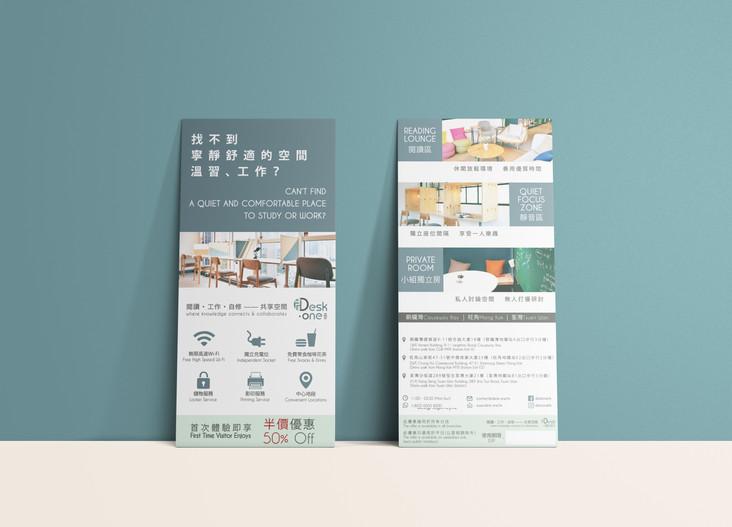 Desk-one Leaflet Design