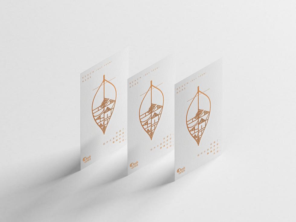 Desk-one Bookmark Design