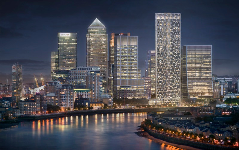 skyscraper city nightlife