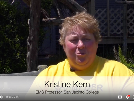 Hear EMS Instructor Kristine Kern's Story