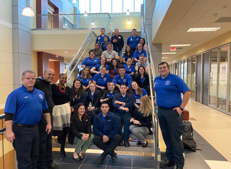 San Jacinto College EMS students support E-Color curriculum development