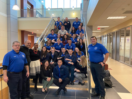 San Jacinto College EMS students support E-Color curriculum development