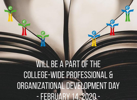 College-Wide Professional & Organizational Development Day