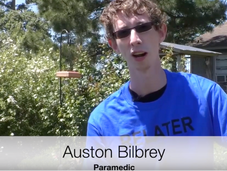 Paramedic Auston Bilbrey explains how E-Colors helps him work effectively with his patients