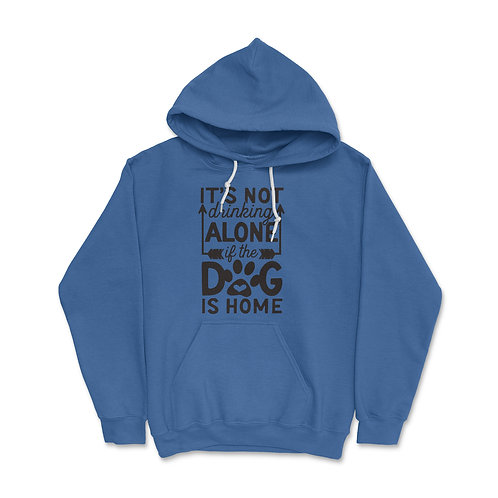 Drinking Alone Pullover Hoodie