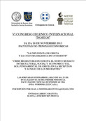 CONGRESO HELENICO INTERNACIONAL NOSTOS 2015