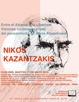 Entre el Abismo y la Libertad: Visiones contemporáneas del pensamiento de Nikos Kazantzakis
