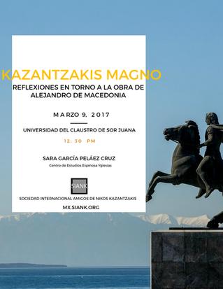 Conferencia: KAZANTZAKIS MAGNO