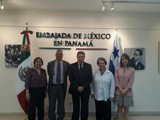 SIANK PANAMÁ EN LA EMBAJADA DE MÉXICO