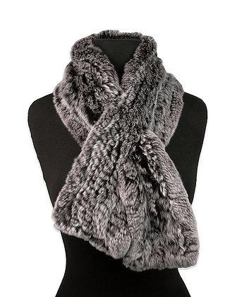 Chosen Fur - Knitted Rex Fur Scarf