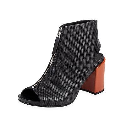 Ernesto Dolini - The Karl 'Murano' Orange Heel Zip