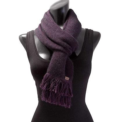 Koru - Fur Merino Wool & Silk Scarf