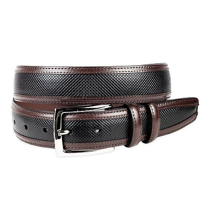 Torino -  Calf with Inlay Leather Belt