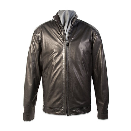 Remy Leather - Men's Zip Front Jacket