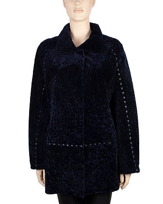Made for Us!  Astra Reversible Shearling Coat
