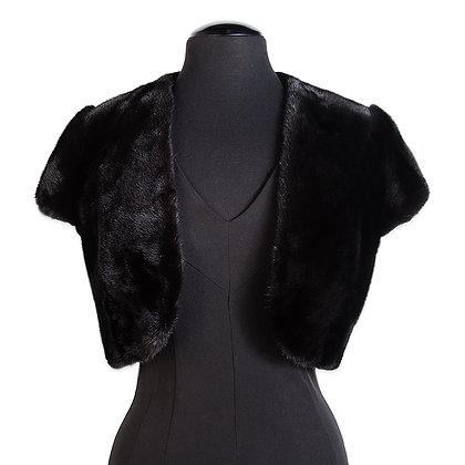 Chosen Furs - Danish Mink Shoulder Mini Jacket