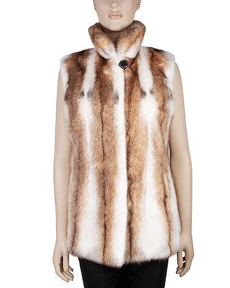 Chosen Fur - Mink Reversible Vest