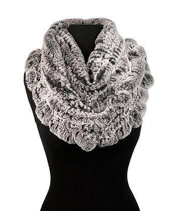 Chosen Furs - Knitted Rex Infinity Scarf