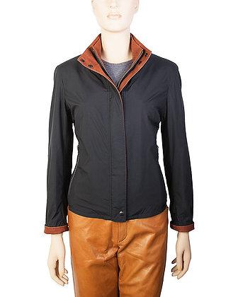 Remy - Women's Double Collar Microfiber Jacket