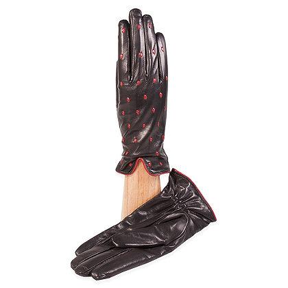 Caridei Gloves - Hand Pick Stitch, Two Tone