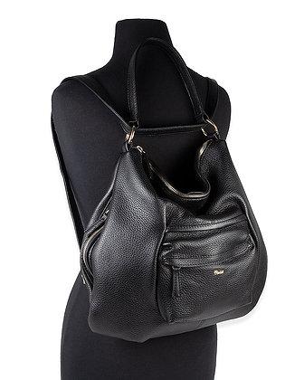 Bruno Rossi - Italian Deerskin Shoulder Bag Transformer