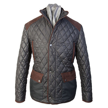 Remy Leather - Quilted Italian Microfiber Jacket