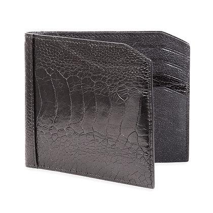 Kulu - Premier Mens Brown Ostrich Shin Wallet
