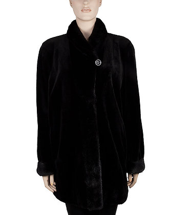 Chosen Furs - Sheared Mink Reversible Stroller