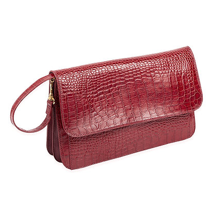 Antonini - Womens' Italian Purse with Embossed Croco
