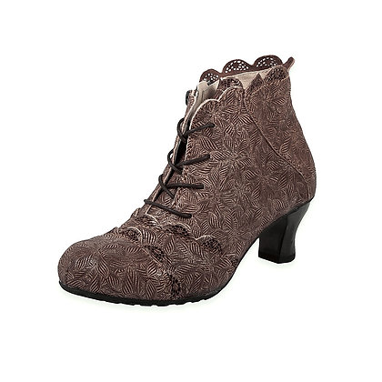 Rovers - 4 EyeTie Print Leather Boot