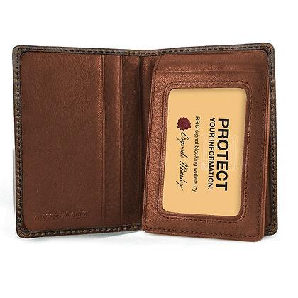 Osgoode Marley - RFID FlipFold Wallet Distressed