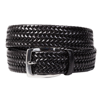 Torino Leather - Italian Woven Genuine Leather Belt