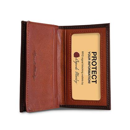 Osgoode Marley - RFID Gusseted Card Case Distressed