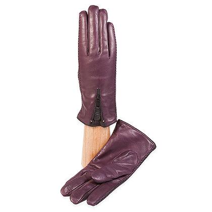 Caridei Gloves - Lambskin with Zipper Wrist Closing