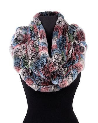 Chosen Fur - Knitted Rex Infinity Scarf